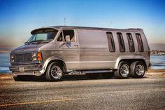 Custom 6 wheel Dodge van..vk