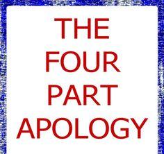 The Four Part Apology