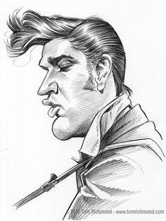 Sketch o'the Week: Elvis!