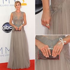Emmys 2012 Fashion: Emily VanCamp in J Mendel
