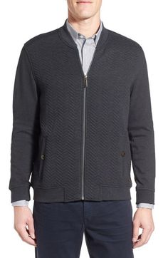 Ted Baker London 'Deeaz' Quilted Knit Jacket available at #Nordstrom