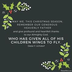'A time for remembering the Son of God': 26 Christmas quotes from LDS leaders | Deseret News
