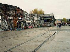 Fietsen door Berlijn.