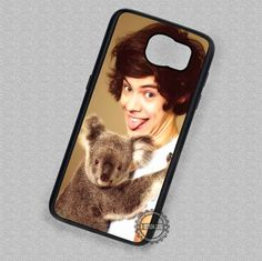 Harry Styles and a Koala One Direction - Samsung Galaxy S7 S6 S5 Note 7 Cases & Covers