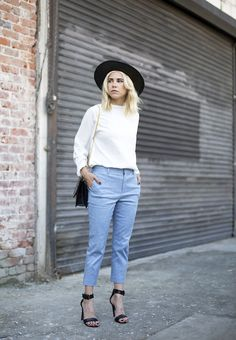 50 Minimalist Outfits to Help You Look Impossibly Chic All Summer   StyleCaster