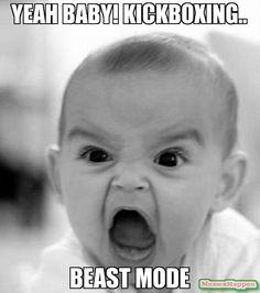 Yeah BABY! kickboxing.. beast mode                                                                                                                                                                                 More