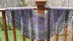 "Free pattern for ""Isis Shawl/Wrap"" by Anastasia Roberts!"