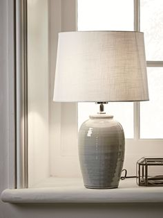 Ribbed Crackle Glaze Table Lamp Table Lamps Uk, Luxury Table Lamps, Table Lamps For Bedroom, Room Lamp, Wall Lamps, Modern Country Bedrooms, Snug Room, Contemporary Table Lamps, Glass Table