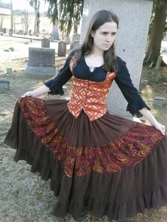 Clockwork Gypsy Skirt