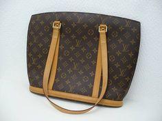 Vintage Jumbo Louis Vuitton Monogram Shoulder Bag by gailparker4, $497.00