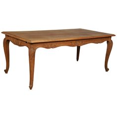 View this item and discover similar for sale at - Century Country French Oak Dining Table in the Louis XV style with hand carved cabriole legs and aprons. French Country Dining, French Country Style, Home Furnishing Accessories, Home Furnishings, French Decor, French Country Decorating, Oak Dining Table, Dining Room, French Oak