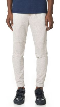 THEORY Dryden Axis Terry Sweatpants. #theory #cloth #sweatpants