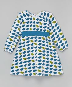 Loving this Blue Flock Babydoll Dress - Infant, Toddler & Girls on #zulily! #zulilyfinds