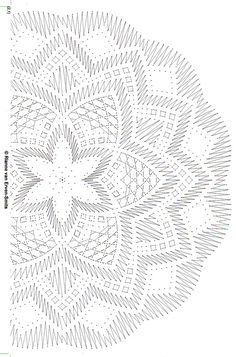1 million+ Stunning Free Images to Use Anywhere Crochet Doily Diagram, Crochet Mandala Pattern, Crochet Doilies, Crochet Stitches, Crochet Patterns, Bobbin Lace Patterns, Doily Patterns, Crochet Dreamcatcher, Crochet Symbols