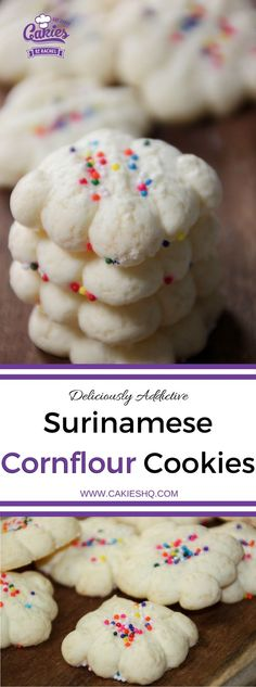 Making your own Surinamese Cornflour Cookies really isn't that hard and it's a fun as well. This is an ideal recipe to make with kids as well. | Recipe | Gluten Free