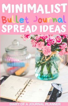 50+ of the best minimalist bullet journal spreads, layouts and ideas for people who want their bullet journal to look fantastic without all the fuss. #bulletjorunal #bulletjournalminimalist #minimalist #bulletjournallayouts #bulletjournalspreads