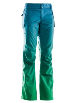 Under Armour Women's Coldgear Infrared Fader Pant  - pretty trousers to match the pretty jacket