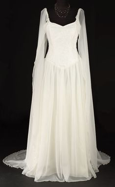 Avalon-Kleid Elven Stil von TheDarkAngelDesignCo auf Etsy