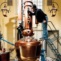 Whiskey distilling: behind the scenes #whiskey