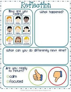 TAKE A BREAK - BEHAVIOR MANAGEMENT AND SELF REGULATION - TeachersPayTeachers.com