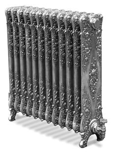 Cast iron radiator -such wonderful detailed metal work