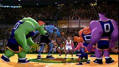 """The originality of the team names """"Tune Squad"""" and """"MonStars"""" is unmatchable. 