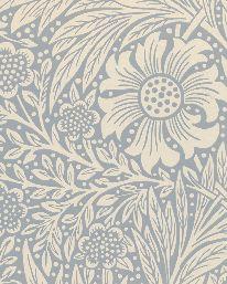 Tapet Marigold Wedgwood från William Morris & Co