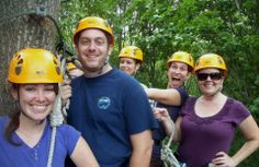 Friends & Families :: EMPOWER :: Zip Line Canopy Tours & Teambuilding :: Middletown, Connecticut
