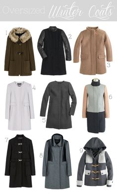 Must-Have: Oversized Winter Coats | Blooms & Bows