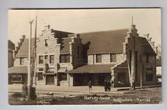 Harvey House, train station, 1912, Wellington, Kansas