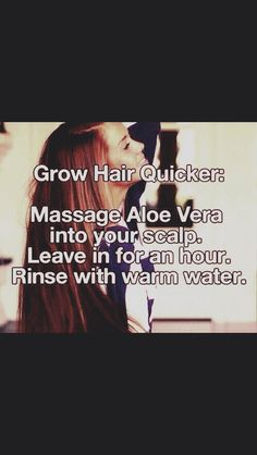 Easy Way To Grow Hair Fast!! #Beauty #Trusper #Tip