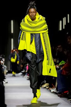 Y-3 Menswear Fall Winter 2018 Paris #Y3 #PFW #parisfashionweek #menswear #runway #fashion