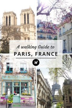 A walking guide to Paris