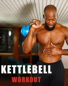 Kettlebell Workout Routines, Kettlebell Hiit, Workout Routine For Men, Gym Workout Videos, Kettlebell Training, Gym Workout For Beginners, Weight Training Workouts, Gym Workouts, Kettlebell Exercises For Arms