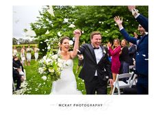 Jessie & Adam exit the wedding aisle in a shower of petals at Centennial Vineyards Bowral  #wedding #centennialvineyards #bowralwedding #photography #bowralphotographer