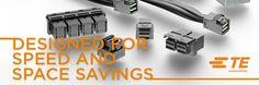 SHC GmbH - Neue interne Mini - SAS HD Steckverbinder & Kabelsätze von TE Connectivity #TEConnectivity #Technik #Steckverbinder #Kabel