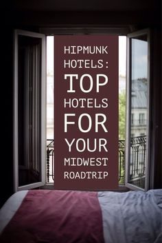 Hipmunk Hotels: Top Hotels for Your Midwest Roadtrip! #travel #trip #vacation #hotel #hoteltools