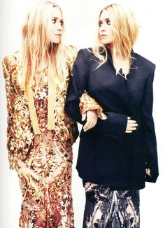 These girls r my fashion muses! Their effortless rocker style in oversized and draped clothing is fantastic!