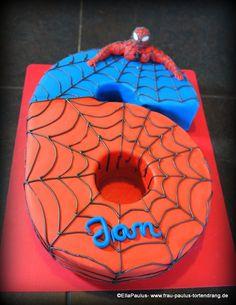 Spiderman Cake Ideas for Little Super Heroes - Novelty Birthday Cakes Spiderman Torte, Spiderman Cake Topper, Superman Cakes, Superhero Theme Party, Superhero Birthday Cake, 6th Birthday Cakes, Novelty Birthday Cakes, Kaiserslautern, Cake Decorating Courses