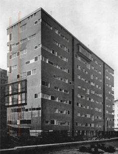 EUD | Luigi Caccia Dominioni: Via Ippolito Nievo 28/1 | 1955-1957