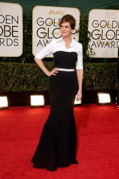 The radiant Julia Roberts in Dolce & Gabbana at the Golden Globe Awards