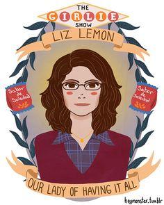 St. Liz Lemon (via The Mary Sue)