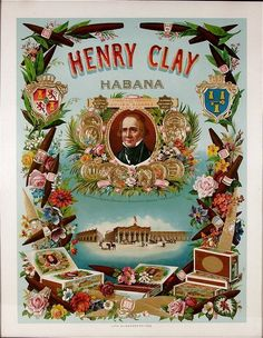 Henry Clay cigar box label