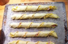 This weekend saw us recreate Lorraine Pascale's recipe for cheese and bacon twists and by did they go down a treat!! Easy-peasy and so deli...