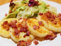 What to do with dumpling leftover? Make the fried german dumplings! #dumplingrecipe #bestgermanrecipes