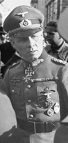 "14 Oct 44: Field Marshall Erwin Rommel is forced to commit suicide after he is loosely implicated in the 20th July Bomb Plot against Hitler. That, and Rommel's ""defeatist"" attitude of late, was enough to warrant Hitler's wrath. The problem for Hitler was how to eliminate Germany's most popular general without revealing to the German people that he had ordered his death. His simple solution: Rommel had succumbed to wounds received in battle. More: http://scanningwwii.com/a?d=1014&s=441014…"