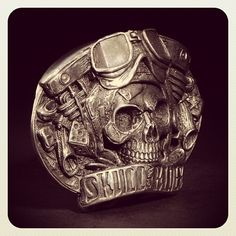 Skull Rider Buckle - Fourspeed x D.Vicente... #Padgram