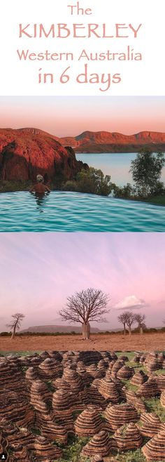 The Kimberley Desert of Western Australia has landscapes like nowhere else on Ea. The Kimberley De Western Australia, Australia Travel, Campervan Australia, Places To Travel, Places To See, Campervan Hire, Holiday Destinations, Westerns, Highlights
