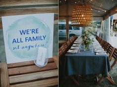 reception table ideas - photo by Bek Grace http://ruffledblog.com/gold-coast-backyard-wedding