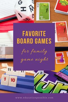 Board games for middle school families. These are some games that families with tweens will have fun playing together. Many are classics and have definitely stood the test of time. My kids fell in love with Rummikub years ago and still love playing it. Grab one of these for your next family game night. Best Family Board Games, Fun Board Games, Family Games, Tween Games, Games For Teens, Educational Board Games, Educational Videos, Kids Falling, Fun Activities To Do
